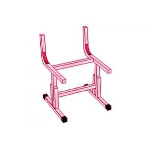 Каркас для стула ученического школьного регулируемого по высоте