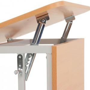 Механизм регулировки наклона столешницы парт, столов