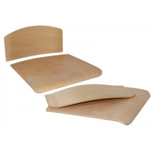 Сиденье и спинка для ученического стула
