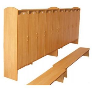 Шкаф для детского сада, 2 секции