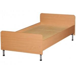 Кровать детская 1600 мм, ЛДСП+металлический каркас
